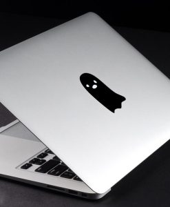 Decal Sticker Macbook Apple Macbook Ghost Stiker Laptop