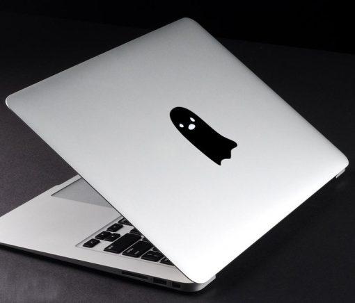Decal Sticker Macbook Apple Macbook Ghost Stiker Laptop